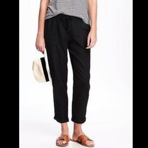 NWT Old Navy Linen cropped pants size XS